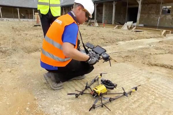 bouw drones